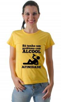 Camiseta Alcool e afinidade