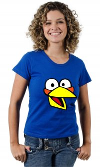 Camiseta Angry Birds The Blues