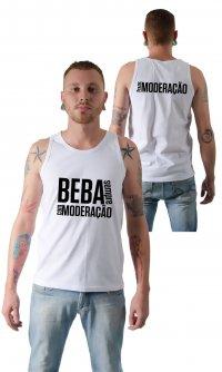 Camiseta Beba com moderação