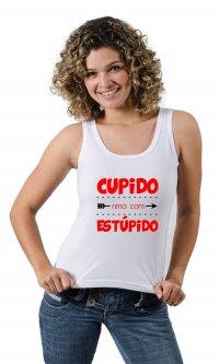 Camiseta Estúpido Cupido