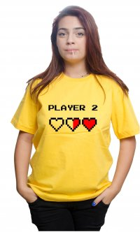 Camiseta Player 2
