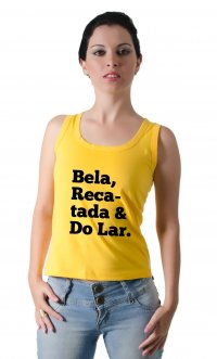 Camiseta Bela, recatada e do lar
