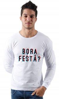 Camiseta Bora festá