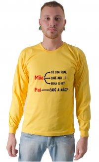 Camiseta Cadê a mãe