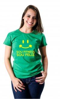 Camiseta Fitness Feliz