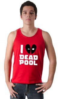 Camiseta I love DeadPool