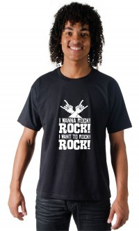 Camiseta I Wanna Rock!