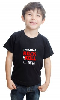 Camiseta Rock and Roll All Night