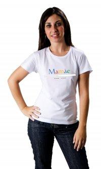 Camiseta Mamãe Google