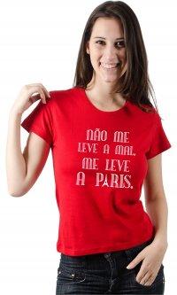 Camiseta Me leve à Paris