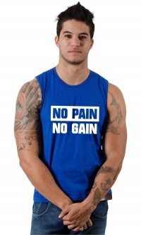 Camiseta No pain No gain