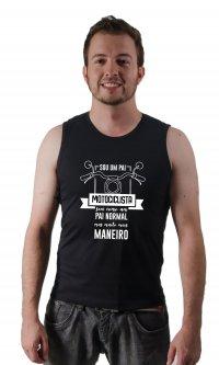 Camiseta Pai motociclista