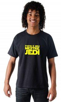 Camiseta Papai Mestre Jedi