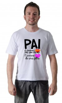 Camiseta Pai primeiro
