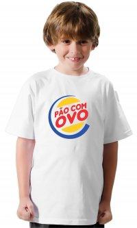 Camiseta Pão com ovo
