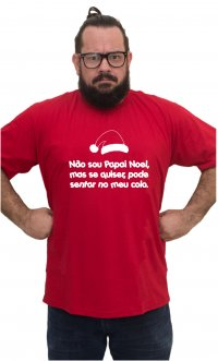 Camiseta Papai Noel colo