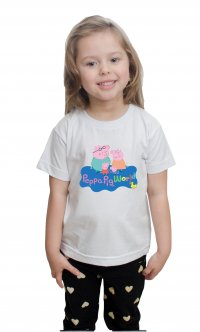 Camiseta Peppa Pig World