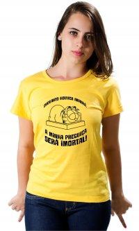 Camiseta Preguiça imortal