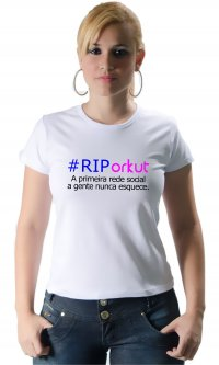 Camiseta RIP Orkut