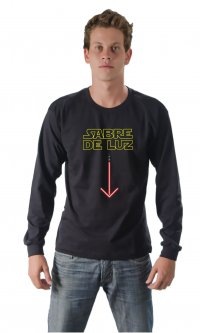 Camiseta Sabre de luz
