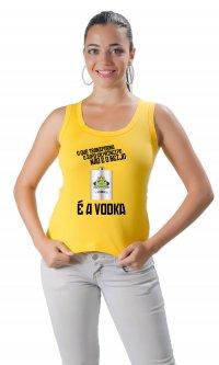 Camiseta Sapo, princípe e vodka