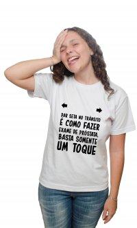Camiseta Seta e exame
