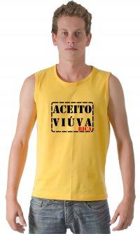 Camiseta Aceito viúva