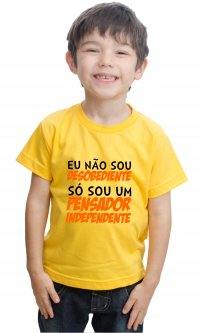 Camiseta Pensador independente