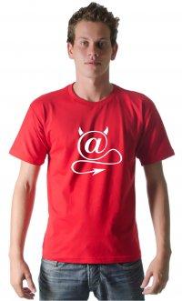 Camiseta Arroba chifre