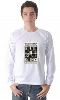 Camiseta Você-sabe-quem retorna