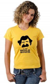 Camiseta Belchior boicote ao aluguel