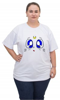 Camiseta Sailor Moon Gatos