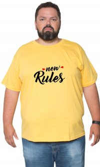 Camiseta New rules