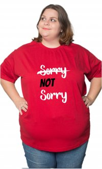 Camiseta Not sorry - Demi Lovato