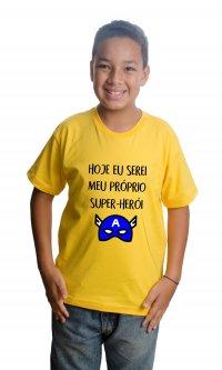 Camiseta Eu super herói