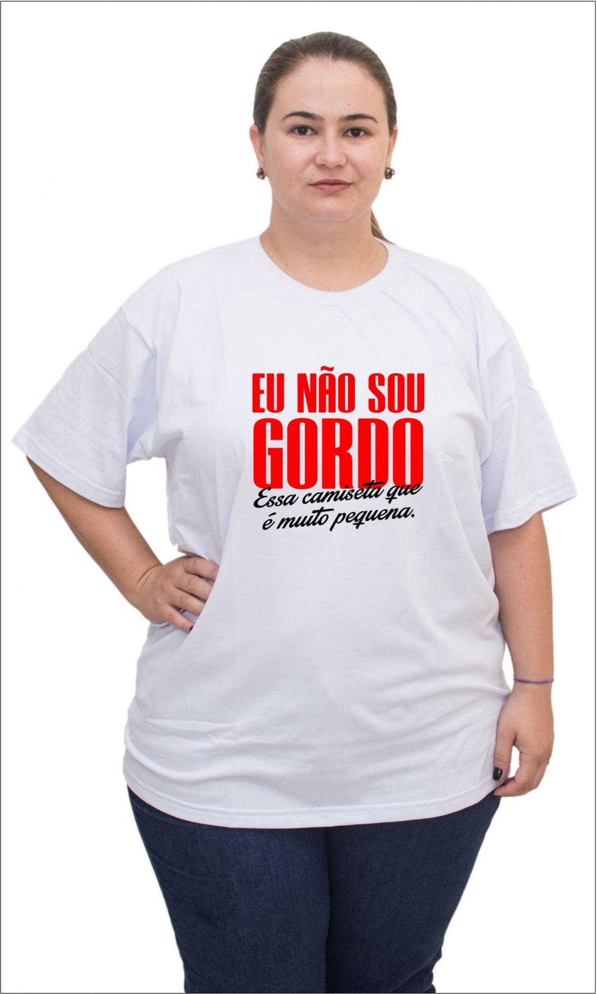 Camisetas Plus Size 0a4827b6883