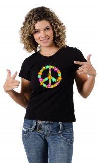 Camiseta Símbolo Paz e Amor