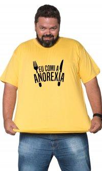 Camiseta Eu comi a anorexia