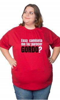 Camiseta Parecer gordo