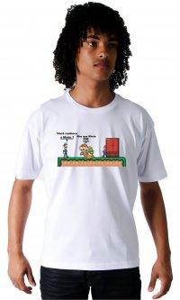 Camiseta Conhece o Mario