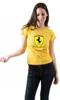 Camiseta Ferrari escudo