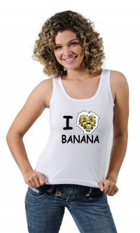 Camiseta I love banana