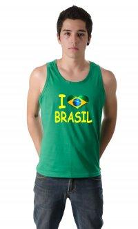 Camiseta I love Brasil