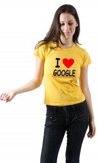 Camiseta I love google