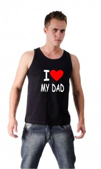 Camiseta I love my dad