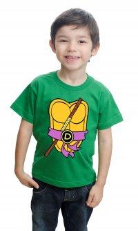 Camiseta Tartaruga Ninja Donatello