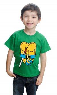 Camiseta Tartaruga Ninja Leonardo