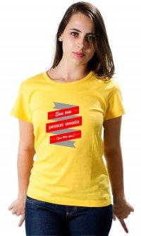 Camiseta Pessoa amada