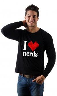 Camiseta I love nerds