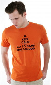 Camiseta Keep calm acampamento